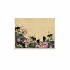 "Alison Coxon ""Polka Dot"" Purple Yellow KESS Naturals Canvas (Frame not Included) - KESS InHouse  - 1"