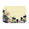 "Alison Coxon ""Polka Dot"" Purple Yellow Place Mat - KESS InHouse"