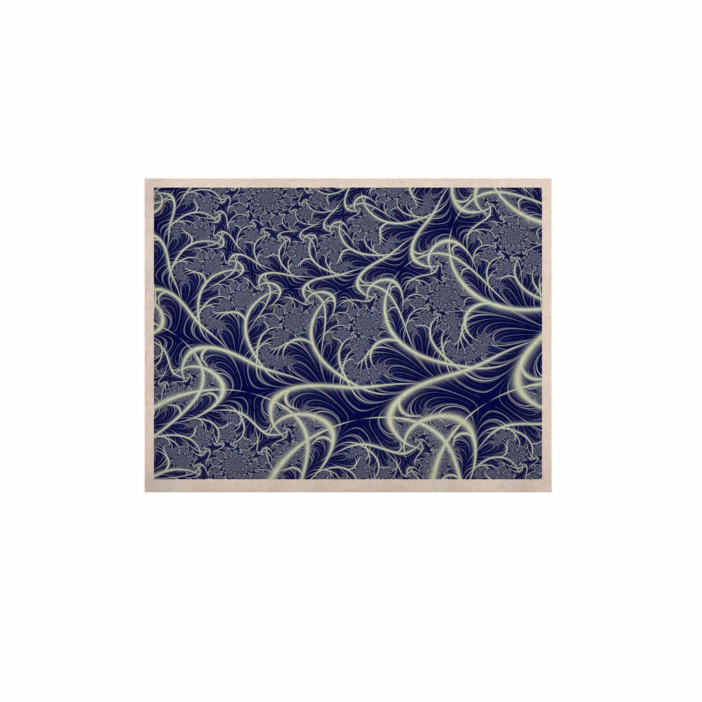 "Alison Coxon ""Midnight Dreams"" Blue White KESS Naturals Canvas (Frame not Included) - KESS InHouse  - 1"