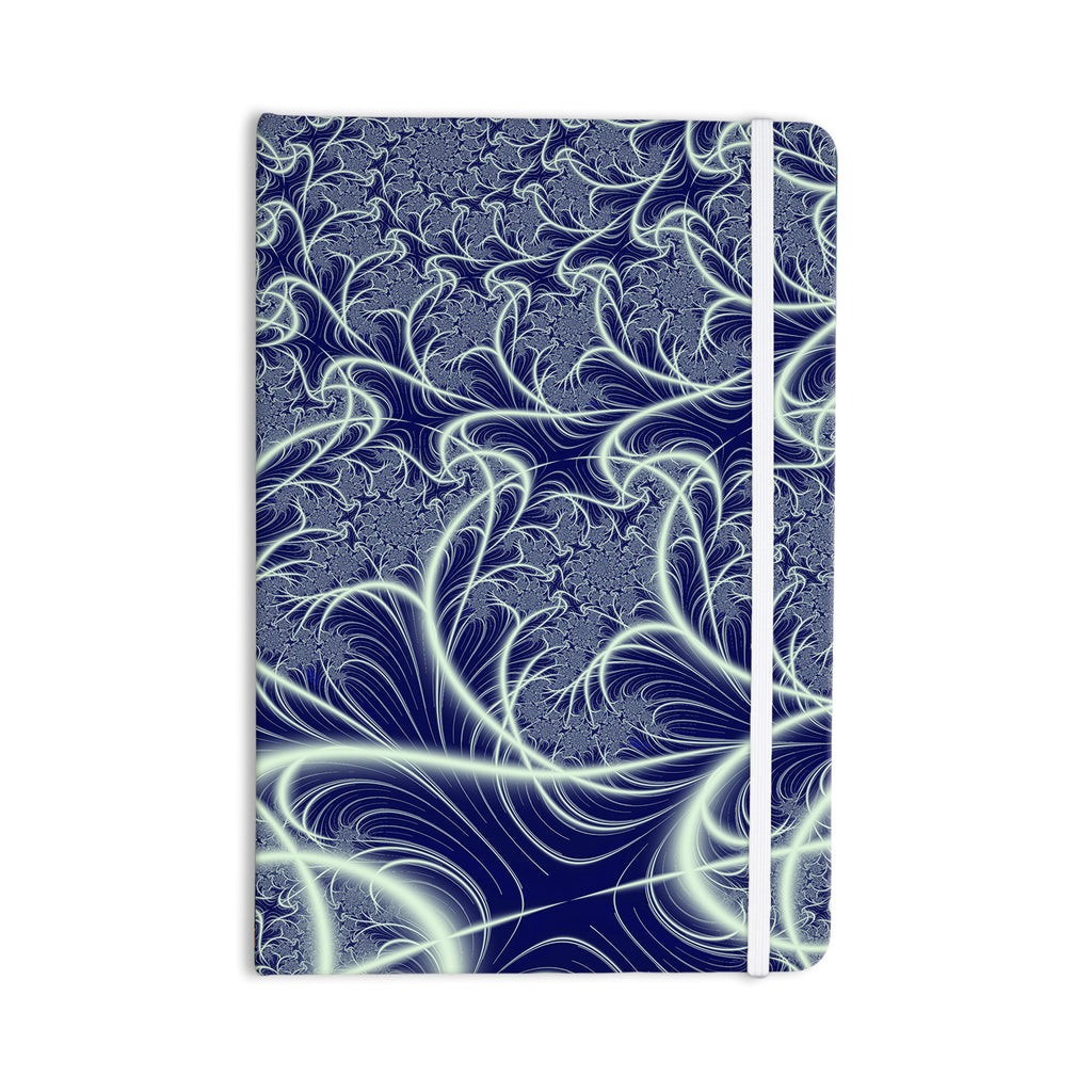 "Alison Coxon ""Midnight Dreams"" Blue White Everything Notebook - KESS InHouse  - 1"