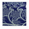 "Alison Coxon ""Midnight Dreams"" Blue White Luxe Square Panel - KESS InHouse  - 1"