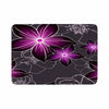 "Alison Coxon ""Charcoal And Amthyst"" Gray Purple Memory Foam Bath Mat - KESS InHouse"