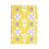 "Alison Coxon ""Edwardian Tile Yellow"" Yellow White Everything Notebook - KESS InHouse  - 1"