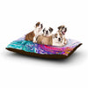 "Alison Coxon ""Colour Wave"" Teal Fantasy Dog Bed - KESS InHouse  - 1"