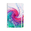 "Alison Coxon ""Colour Wave"" Teal Fantasy Everything Notebook - KESS InHouse  - 1"