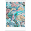"Alison Coxon ""Giverny Blue"" Teal Abstract Fine Art Gallery Print - KESS InHouse"