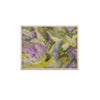 "Alison Coxon ""Giverny Lilac"" Yellow Pattern KESS Naturals Canvas (Frame not Included) - KESS InHouse  - 1"