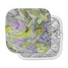 "Alison Coxon ""Giverny Lilac"" Yellow Pattern Pot Holder"