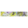 "Alison Coxon ""Giverny Lilac"" Yellow Pattern Table Runner - KESS InHouse  - 1"