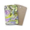 "Alison Coxon ""Giverny Lilac"" Rectangle Wooden Cutting Board"