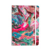 "Alison Coxon ""Giverny Pink"" Teal Peach Everything Notebook - KESS InHouse  - 1"