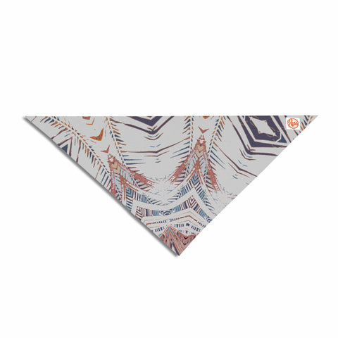 "Alison Coxon ""Boho Dream Tan"" Pink Blue Pet Bandana - Outlet Item"