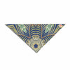 "Alison Coxon ""Kintenge Deep Blue "" Blue Orange Pet Bandana - KESS InHouse  - 1"