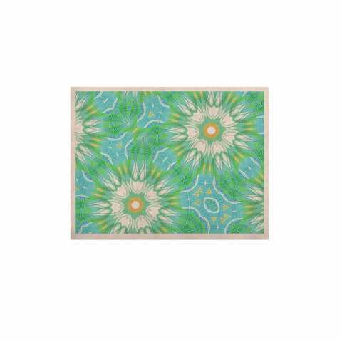 "Alison Coxon ""Fresh Daisy"" Green Yellow Digital KESS Naturals Canvas (Frame not Included)"