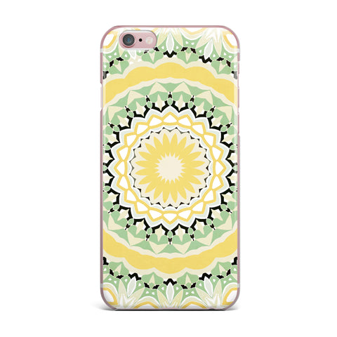 "Alison Coxon ""Mellow Yellow"" Yellow Green Digital iPhone Case"
