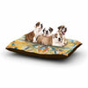 "Angelo Cerantola ""Supreme"" Multicolor Orange Dog Bed - KESS InHouse  - 1"