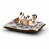 "Angelo Carantola ""Reach Out"" Beige Lavender Dog Bed - KESS InHouse  - 1"