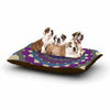 "Angelo Cerantola ""Composition (Purple)"" Lavender Beige Dog Bed - KESS InHouse  - 1"