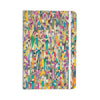 "Angelo Cerantola ""Feel It"" Beige Pattern Everything Notebook - KESS InHouse  - 1"