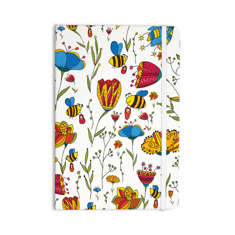 "Alisa Drukman ""Bees"" Multicolor Everything Notebook - KESS InHouse  - 1"