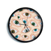 "Alisa Drukman ""Eyes"" Eyeballs Modern Wall Clock"