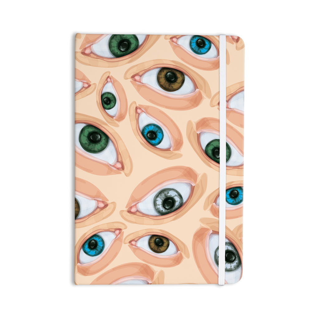 "Alisa Drukman ""Eyes"" Eyeballs Everything Notebook - KESS InHouse  - 1"