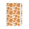 "Alisa Drukman ""Gold Pattern"" Orange Geometric Everything Notebook - KESS InHouse  - 1"