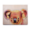 "Ancello ""Cute Koala"" Orange Pink Birchwood Wall Art - KESS InHouse  - 1"