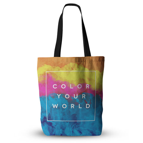 "Galaxy Eyes ""Color Your WOrld"" Tote Bag - Outlet Item"