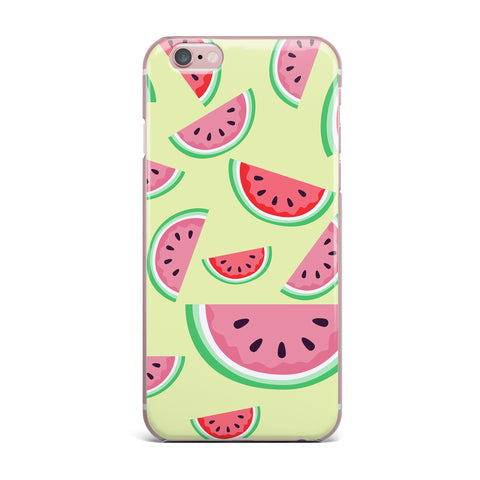 "afe images ""Watermelon Background"" Pink Food iPhone Case - KESS InHouse"