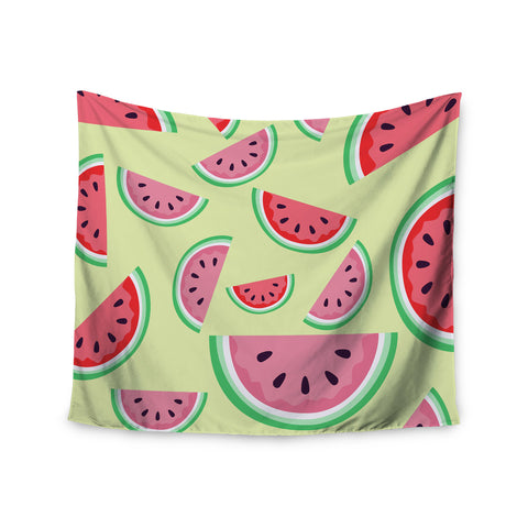 "afe images ""Watermelon Background"" Pink Food Wall Tapestry - KESS InHouse  - 1"