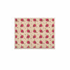 "afe images ""Chocolate Strawberries Pattern"" Red Pink Digital KESS Naturals Canvas (Frame not Included)"
