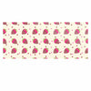 "afe images ""Chocolate Strawberries Pattern"" Red Pink Digital Luxe Rectangle Panel"