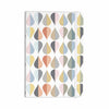 "afe images ""Tear Drops"" Multicolor Illustration Everything Notebook - KESS InHouse  - 1"