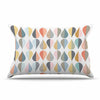 "afe images ""Tear Drops"" Multicolor Illustration Pillow Sham"