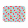 "afe images ""Watermelon Slices Pattern"" Red Blue Illustration Place Mat"