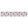 "afe images ""Watermelon Slices Pattern"" Red Blue Illustration Table Runner"