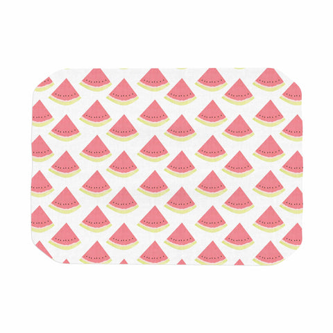"afe images ""Watermelon Pattern 2"" Red White Illustration Place Mat"