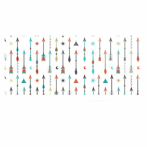 "afe images ""Tribal Inspired Arrow"" Multicolor Illustration Luxe Rectangle Panel"