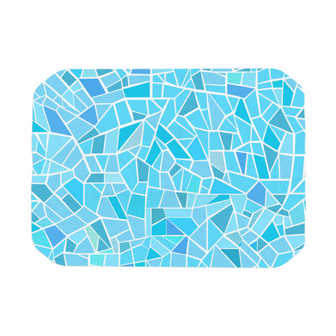 "afe images ""Abstract Mosaic Pattern"" Blue Pastel Illustration Place Mat"