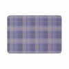 "afe images ""Purple Plaid Pattern"" Purple Blue Illustration Memory Foam Bath Mat - KESS InHouse"