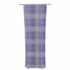 "afe images ""Purple Plaid Pattern"" Purple Blue Illustration Decorative Sheer Curtain - KESS InHouse  - 1"