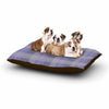 "afe images ""Purple Plaid Pattern"" Purple Blue Illustration Dog Bed - KESS InHouse  - 1"