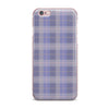 "afe images ""Purple Plaid Pattern"" Purple Blue Illustration iPhone Case - KESS InHouse"