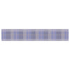 "afe images ""Purple Plaid Pattern"" Purple Blue Illustration Table Runner - KESS InHouse  - 1"
