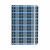 "afe images ""Blue Plaid Pattern"" Blue Multicolor Illustration Everything Notebook - KESS InHouse  - 1"