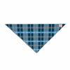 "afe images ""Blue Plaid Pattern"" Blue Multicolor Illustration Pet Bandana - KESS InHouse  - 1"