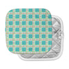 "afe images ""Modern Plaid Pattern"" Teal Green Illustration Pot Holder"