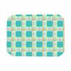"afe images ""Modern Plaid Pattern"" Teal Green Illustration Place Mat - KESS InHouse"