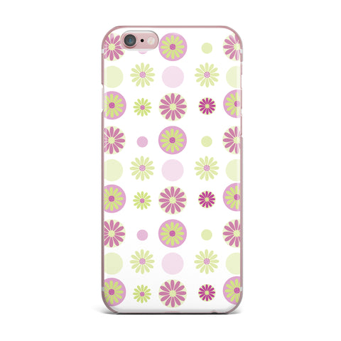 "afe images ""Purple Floral Pattern"" Pink Multicolor Digital iPhone Case - KESS InHouse"